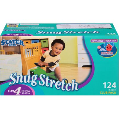 Stater Bros. Markets Snug Stretch Club Pack Size 4 22-37 lbs Diapers