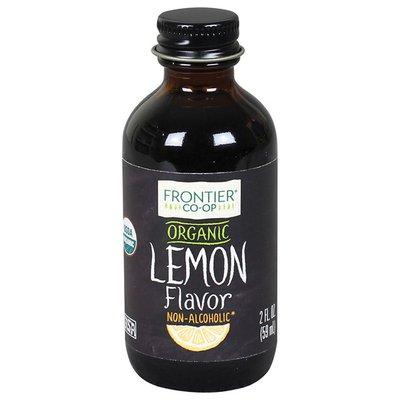 Frontier Organic Lemon Flavor