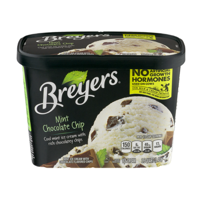 Breyers Ice Cream Mint Chocolate Chip