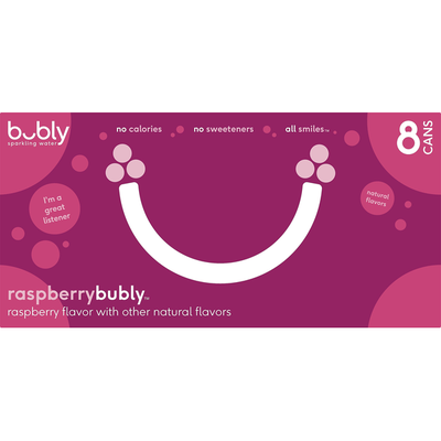bubly Rasberry Sparkling Water