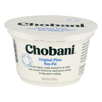 Chobani Original Plain Non-Fat Greek Yogurt