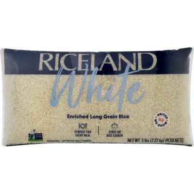 Riceland Rice, Long Grain, Enriched, White