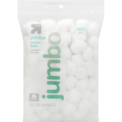 Up&Up Cotton Balls, Jumbo