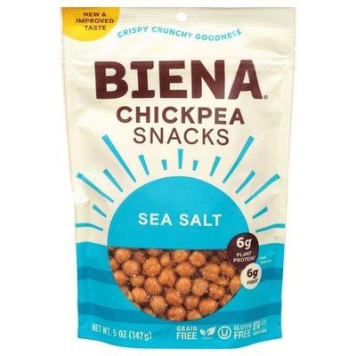 Biena Chickpea Snacks, Sea Salt