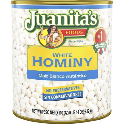 Juanita's Foods Hominy, White
