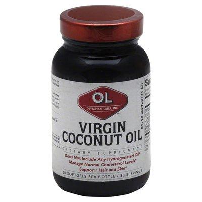 Olympian Labs Virgin Coconut Oil, Softgels