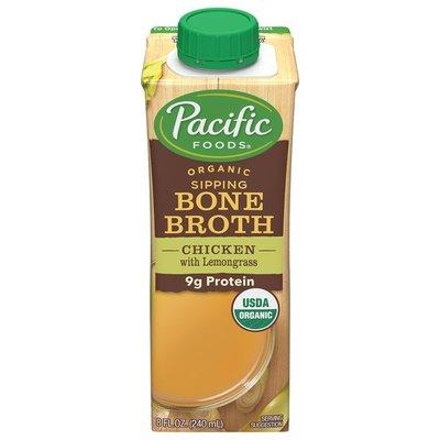 Pacific Organic Chicken Bone Broth with Lemongrass
