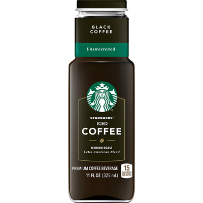Starbucks Iced Coffee Unsweetened Black Coffee