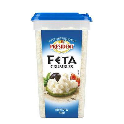President Feta Crumble Cheese