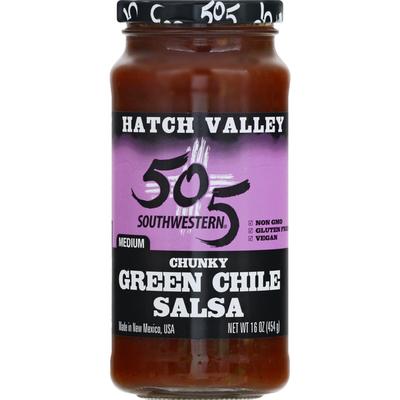 505 Southwestern Medium Chunky Green Chile Salsa