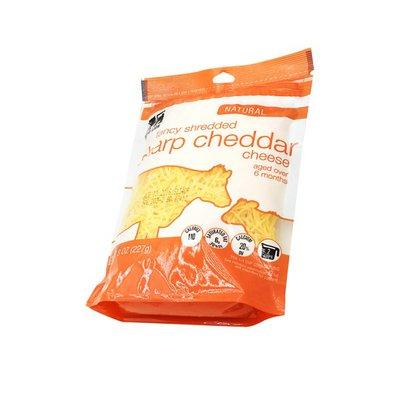 Food Lion Fancy Shredded Cheese, Sharp Cheddar