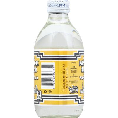 Original New York Seltzer Soda, Vanilla Cream, Original