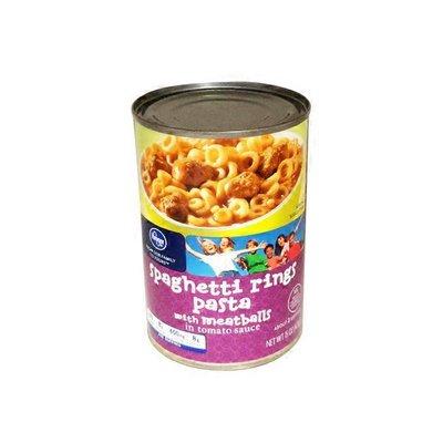 Kroger Spaghetti Rings And Meatballs