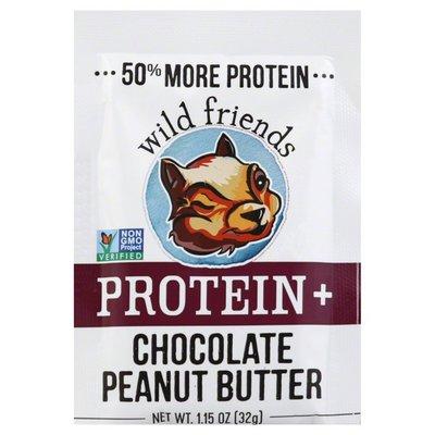 Wild Friends Peanut Butter, Protein +, Chocolate