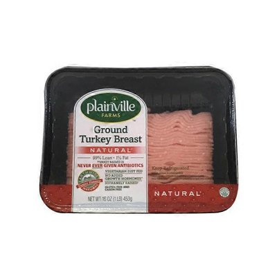 Plainville Farms Ground Turkey Breast
