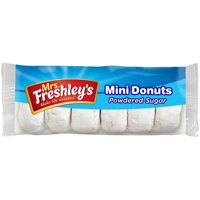 Mrs. Freshley's Powdered Mini Donuts