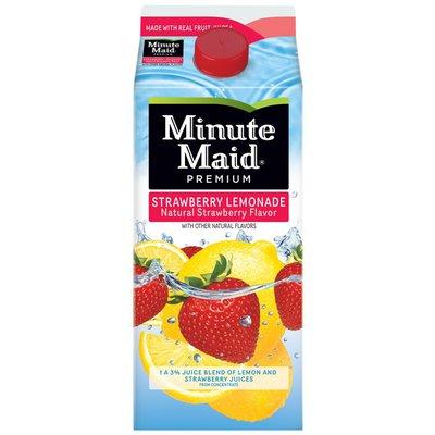 Minute Maid Strawberry Lemonade, Fruit Drink
