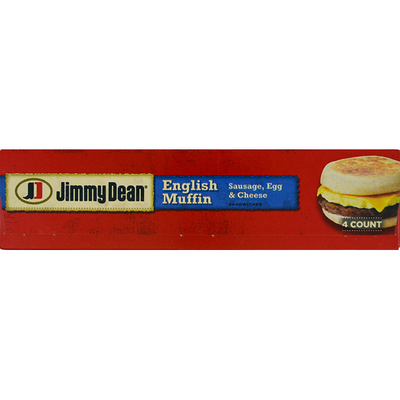 Jimmy Dean Sausage, Egg & Cheese English Muffin Sandwiches