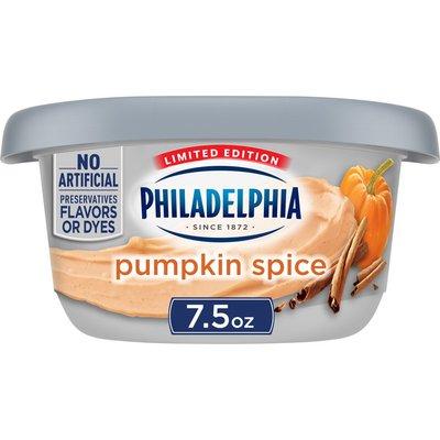 Philadelphia Pumpkin Spice Cream Cheese Spread