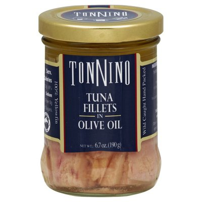 Tonnino Tuna Fillets, in Olive Oil