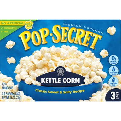 Pop Secret Kettle Corn Microwave Popcorn