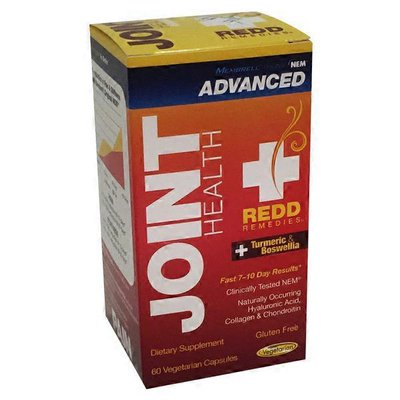 Redd Remedies Joint Health Advanced Membrell Original Nem, Turmeric & Boswellin Dietary Supplement Vegetarian Capsules