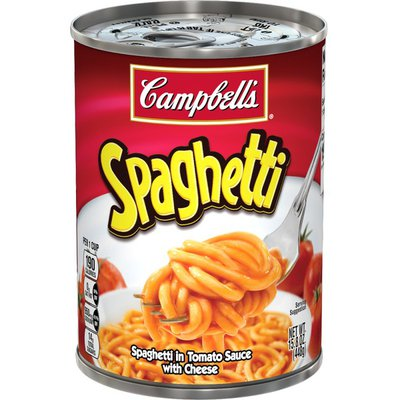 Campbell's® Spaghetti in Tomato and Cheese Sauce