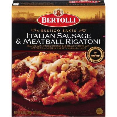 Bertolli Italian Sausage & Meatball Rigatoni Rustico Bakes