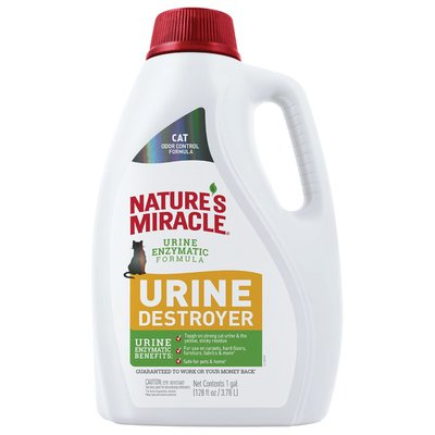 Nature's Miracle Just For Cat Urine Destroyer