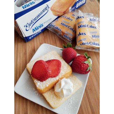 Entenmann's Minis Pound Snack Cakes