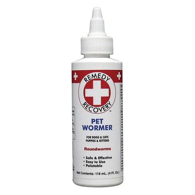 Remedy Recovery Pet Wormer for Dogs & Cats & Puppies & Kittens