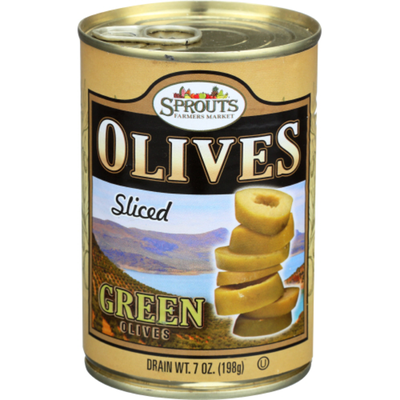 Sprouts Green Sliced Olives