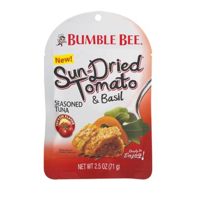 Bumble Bee Wild Caught Tuna Seasoned with Sun-Dried Tomato & Basil