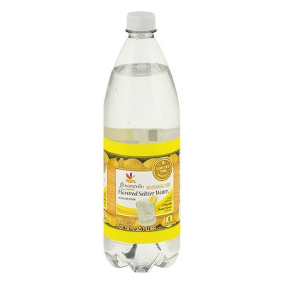 SB Flavored Seltzer Water Limoncello