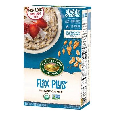 Nature's Path Organic Hot Oatmeal Flax Plus