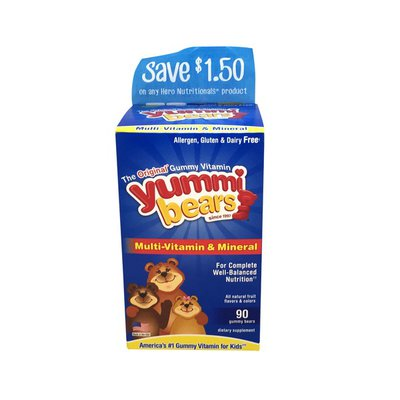 Yummi Bears Multi-Vitamin & Mineral, Gummy Bears