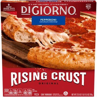 DiGiorno Pepperoni Frozen Pizza on a Rising Crust