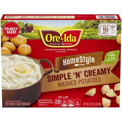 Ore-Ida Home-Style Simple 'N' Creamy Mashed Potatoes