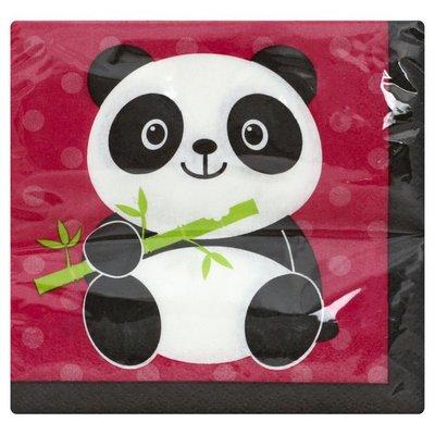 Party Creations Napkins, Panda-Monium, 2 Ply