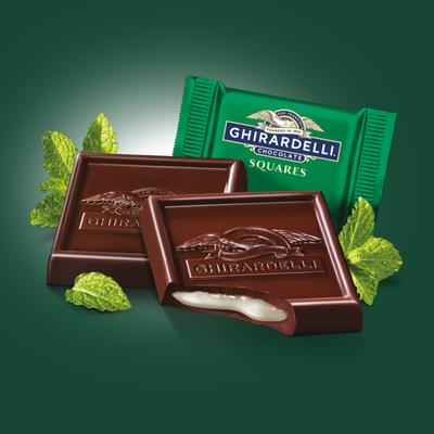 Ghirardelli Dark Chocolate Mint Squares