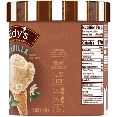 Edy'S/Dreyer'S Vanilla Ice Cream
