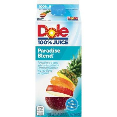 Dole Paradise Blend Flavored Blend Of Juices