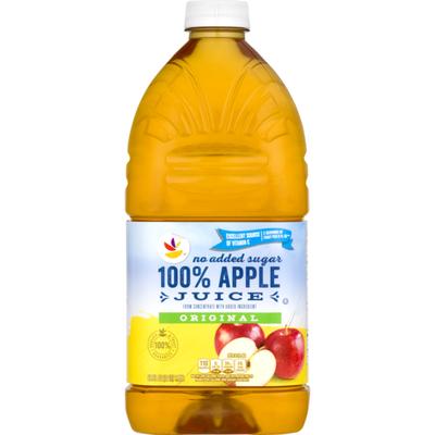 SB 100% Juice, Apple, Unsweetened