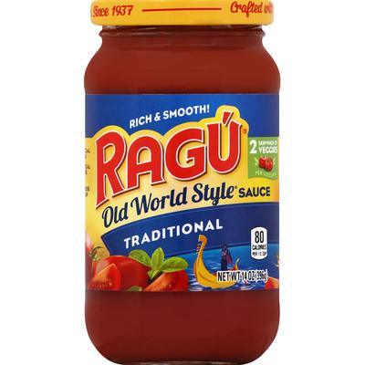 Ragu Sauce, Traditional, Old World Style