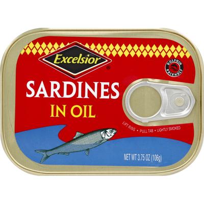 Excelsior Sardines, in Oil