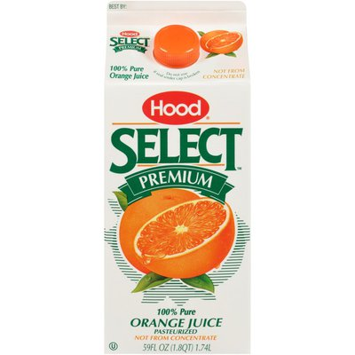 Hood Select Premium 100% Pure Orange Juice