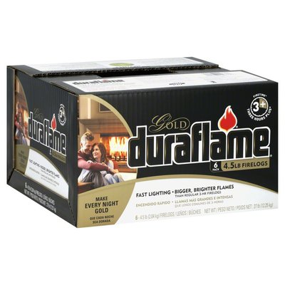 Duraflame Firelogs, Fast Lighting