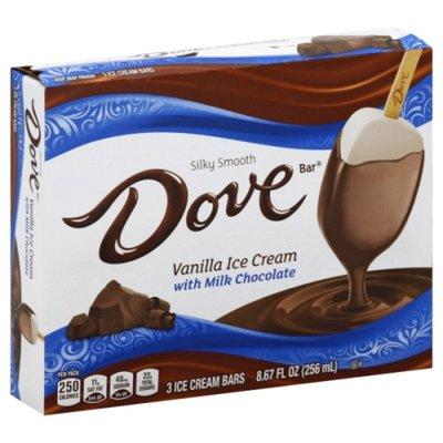 Dove Vanilla with Milk Chocolate Ice Cream Bars
