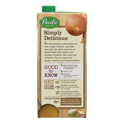 Pacific Foods Free Range Chicken Broth