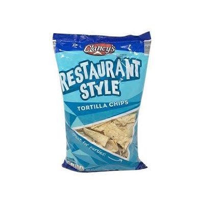 Clancy's Restaurant Style Tortilla Chips